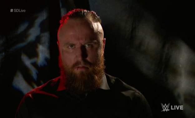 WWE SmackDown Live Aliester Black