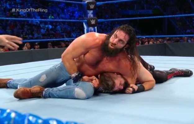 WWE SmackDown Live Elias Kevin Owens
