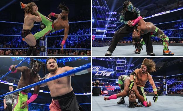 WWE Smackdown Live 12 febrero