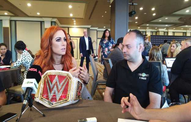 WWE SummerSlam 2019 Entrevistas cobertura