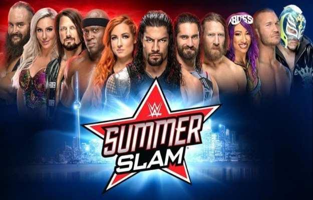 WWE SummerSlam 2019 Planeta Wrestling