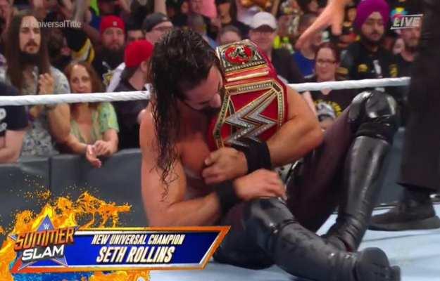 WWE SummerSlam 2019 Seth Rollins