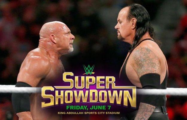 WWE Super Show Down Arabia Saudí