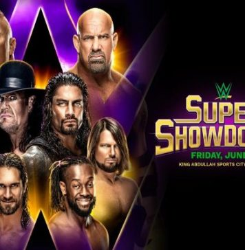 Cartelera WWE Super ShowDown
