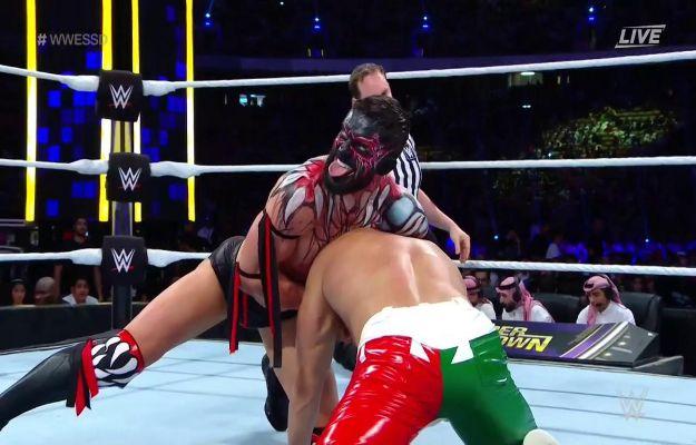 WWE Super ShowDown Demon Balor