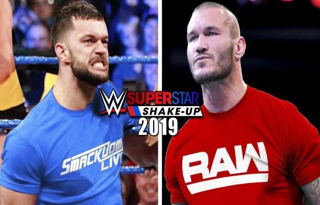 WWE Superstars Shake Up 2019