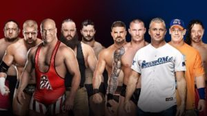WWE Survivor Series 5 vs 5 masculino