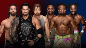 WWE Survivor Series Shield New Day