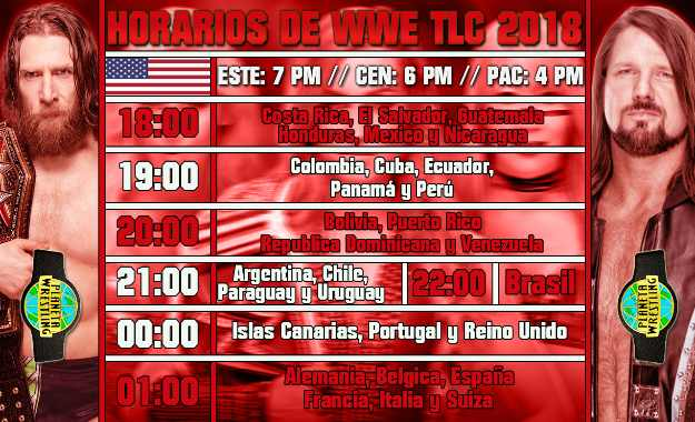 WWE TLC 2018 en vivo