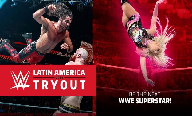 WWE Tryout Chile