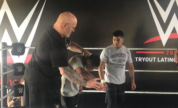 Ya están en marcha los tryouts de WWE en Chile | Planeta Wrestling