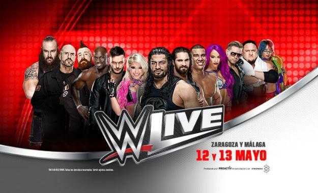 WWE noticias #WWEZaragoza