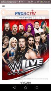 WWE borra shows Malaga Zaragoza
