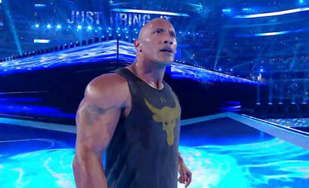 WWE estaría intentando contratar a The Rock para múltiples apariciones