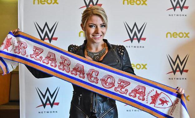 WWE noticias Alexa Bliss Zaragoza