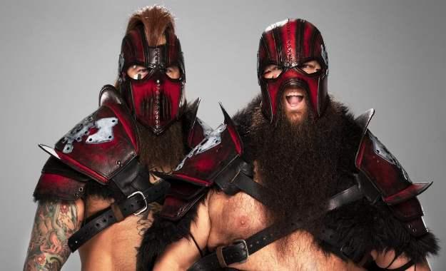 WWE podría cambiar el nombre una vez más a Viking Raiders