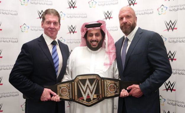 WWE podría volver a Arabia Saudí en el mes de Noviembre Detenido un hombre en Arabia Saudí por criticar el Pro Wrestling