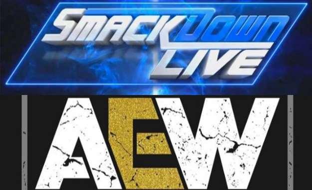 WWE prohíbe las camisetas de AEW a su Show SmackDown Live