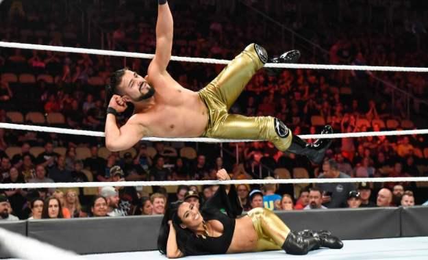 WWE recorta el nombre del luchador Andrade cien Almas