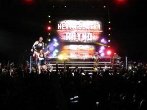 WWE Madrid Slater y Rhyno
