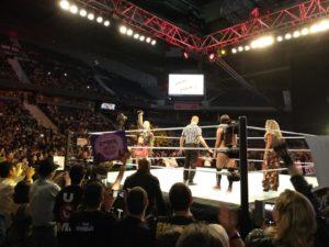 WWE Madrid Ronda contra Nikki