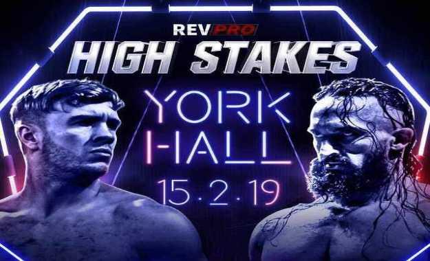 Will Osprey se enfrentará a PAC en Revolution Pro Wrestling