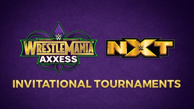 WrestleMania Axxess torneos