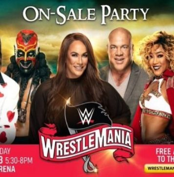 Wrestlemania 36 Party