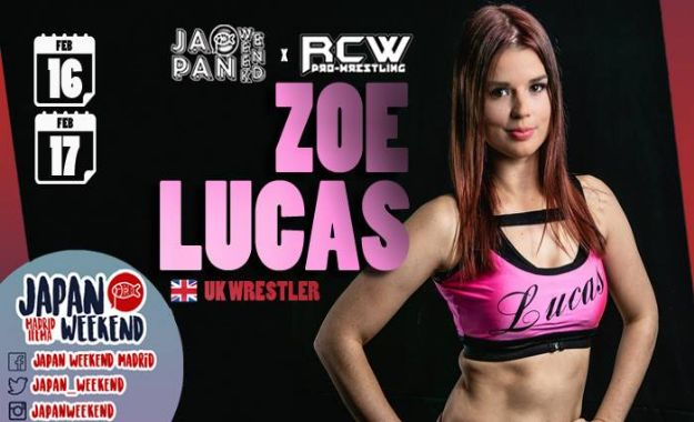 Zoe Lucas RCW JApan Wekend