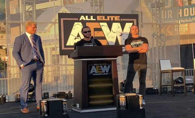 AEW registra un nuevo nombre y logotipo