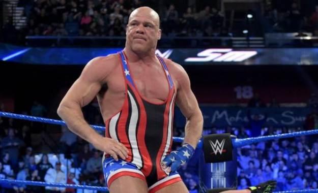 kurt angle futuro jubilación WWE