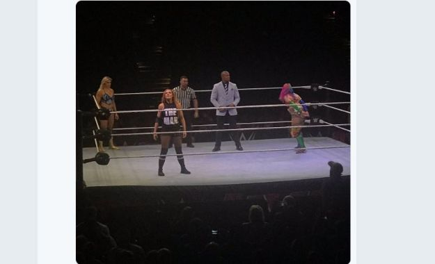 resultados del WWE Live desde Baltimore