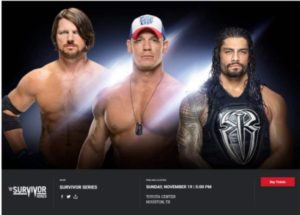 john cena estará en survivor series