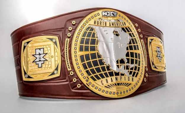 cambio de título en las grabaciones de WWE NXT