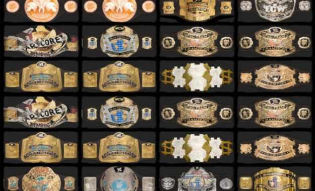 nuevos cinturones campeonatos wrestlemania