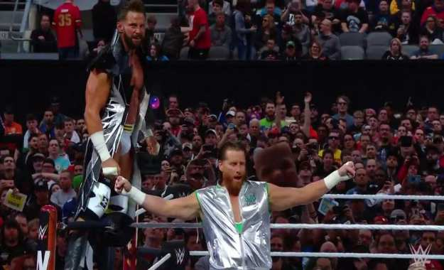 Ryder Hawkins campeones WWE RAW