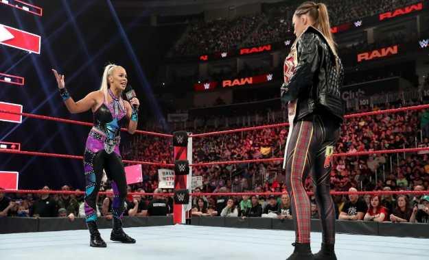 Dana Brooke envía una advertencia a Ronda Rousey