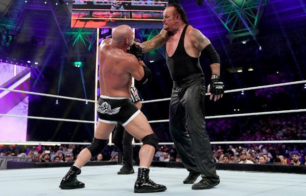 discusion undertaker goldberg backstage