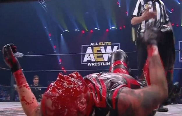 wrestling listo vuelta sangre