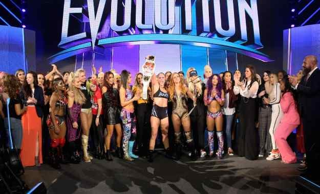 protagonistas de WWE Evolution