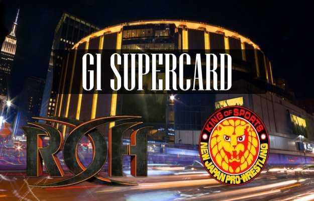 Resultados ROH NJPW G1 Supercard