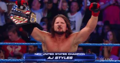 AJ Styles es el nuevo campeón de USA