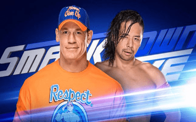 SmackDown Live John Cena vs. SHinsuke Nakamura