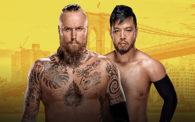 Hideo Itami se enfrenta a Aleister Black en NXT TakeOver Brooklyn III