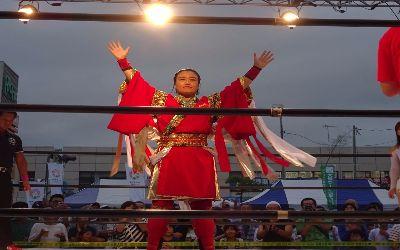 Sendai Girls show con Meiko Satomura