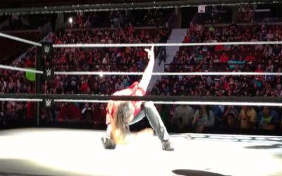Nakamura ayer en el show de Smackdown en Ottawa