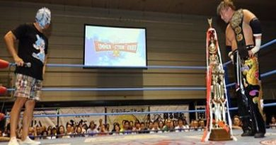 Tajiri ganó el título de AJPW
