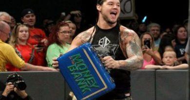 WWE Noticias Baron Corbin pierde su canjeo del Money in the Bank