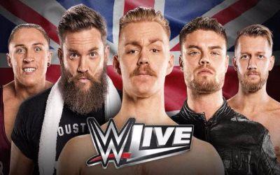 WWE Noticias Novedades sobre los luchadores de la division UK