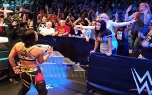 WWE Noticias Shayna Baszler retando a las four horsewomen en el Mae Young Classic